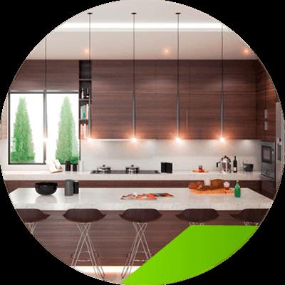 Erisa - Kitchen interior design - important data