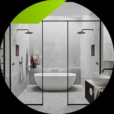 Erisa - Bathroom interior design - bath