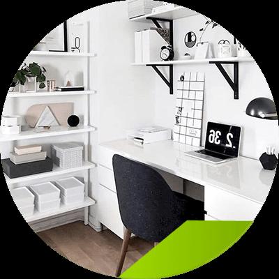 Erisa - interior design of your office - tips of design