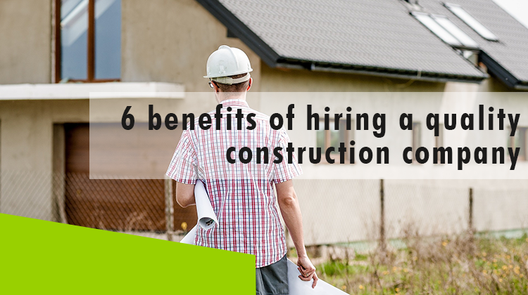 Erisa - hiring a quality construction company - title