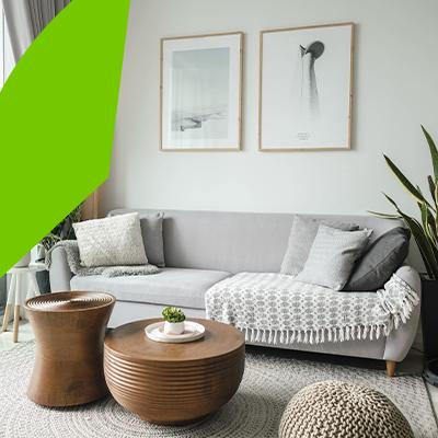 Erisa-Living room interior design-Nordic style