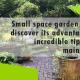 Erisa - Small space garden design - banner