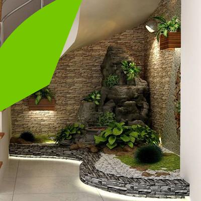 Erisa - Small space garden design - you can have a small interior garden