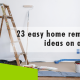 Erisa-23 easy home remodeling ideas on a budget-Banner