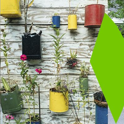 Erisa-29 small garden ideas-4-Vertical gardens