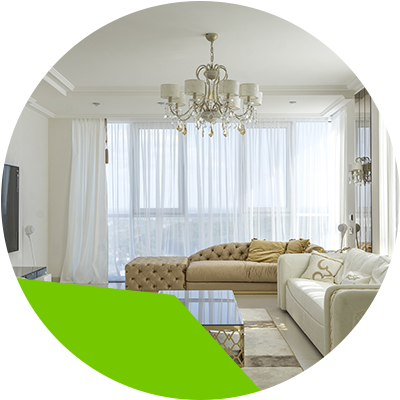 erisa - curtains - 33 ideas to decorate your living room