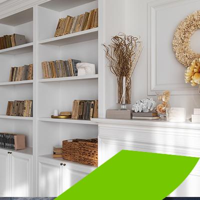 erisa - decorative bookcase