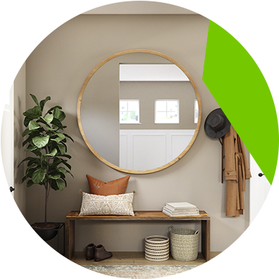 Erisa-Creative ways to get more natural light in darkened rooms-Use mirrors