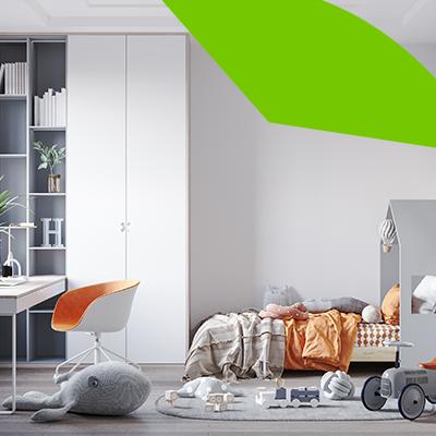 Erisa - Bedroom interior design for kids