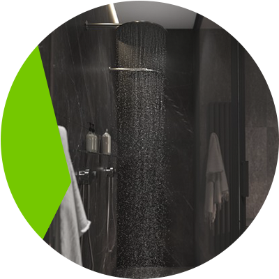 Erisa-Screens Choose the ideal one for your bathroom-Black shower screens