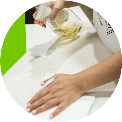 Erisa-Kitchen countertop choose the best materials for its construction-How to clean kitchen countertops properly