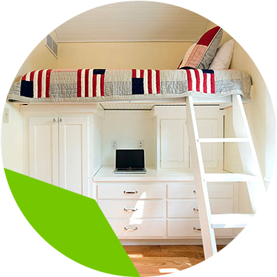 Erisa-Learn the advantages of loft beds for your room -Adults can also find the bed raised