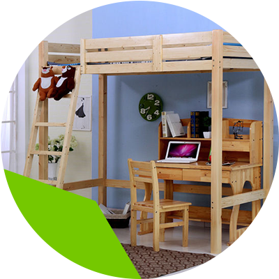 Erisa-Learn the advantages of loft beds for your room -raised beds are an excellent option