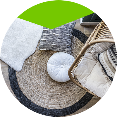 Erisa-affordable balcony changes-Outdoor rugs