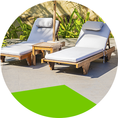 Erisa-Take advantage of your terrace without spending a lot of budget-Seats of fabric