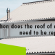 Erisa-When does the roof of a house need to be replaced?