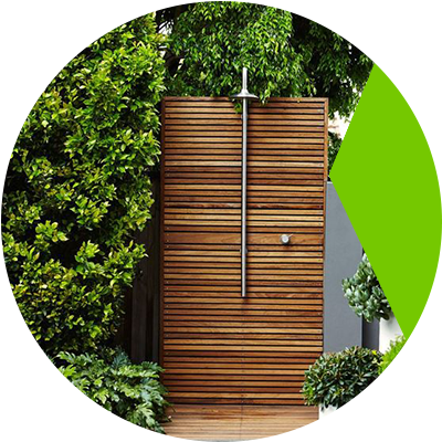 Erisa-10 Ways To Transform Your Basic Backyard Into A Resort-Styled Retreat!-Buy an outdoor shower