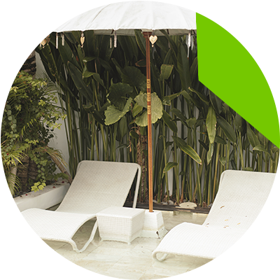 Erisa-10 Ways To Transform Your Basic Backyard Into A Resort-Styled Retreat!-Upgrade your pool with resort-style accessories