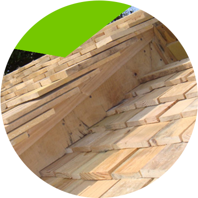 Erisa-How to maintain roofs-Wood Shingles