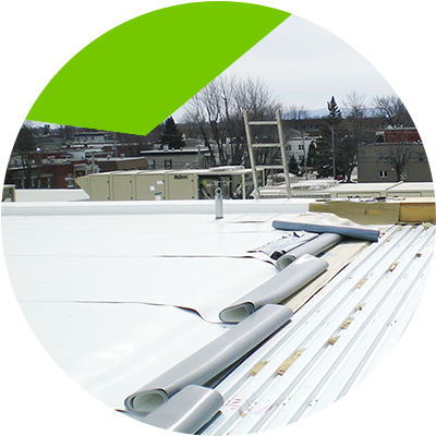 Erisa-PVC flat roof